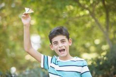 Carefree childhood concept stock photography