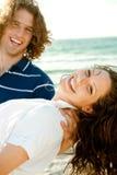Carefree couple enjoying Royalty Free Stock Image