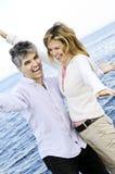 carefree couple mature Στοκ Εικόνα