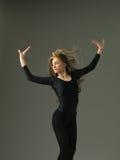 Carefree dancer Stock Photos