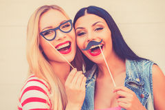 Carefree fun. Royalty Free Stock Photography