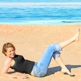 Carefree girl Royalty Free Stock Photos