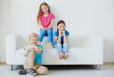 Carefree juniors Stock Photo