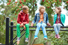 Carefree kids Royalty Free Stock Images