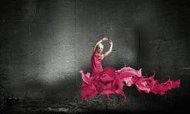 carefree kvinna arkivbild