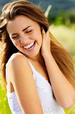 Carefree laughter Stock Photography