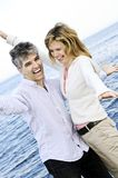 Carefree mature couple Stock Image