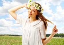 Carefree mood Royalty Free Stock Photos
