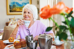Carefree retirement Stock Images