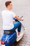 Carefree ride. Stock Images