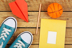 Carefree student Stock Images