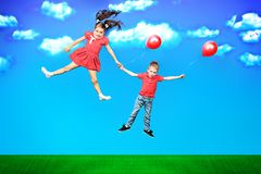 Carefree time Royalty Free Stock Image
