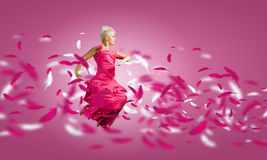 Carefree woman Royalty Free Stock Image
