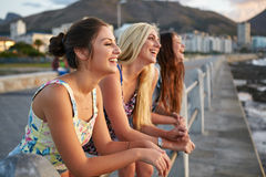 Carefree youth in summer Stock Image