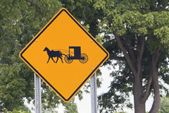 Careful! - Carriages... Royalty Free Stock Photos