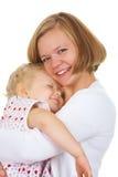 Careful mom Royalty Free Stock Photography