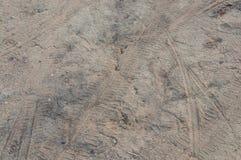 Careggiata su ghiaia fotografie stock libere da diritti