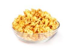 Caremel popcorn Stock Photo