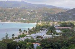 Carenage för familj för fred för karibiska ferie roliga för livsstil för Grenada för hav för bad för värme för sommar för strand  fotografering för bildbyråer