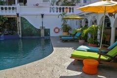 Carenage för familj för fred för karibiska ferie roliga för livsstil för Grenada för hav för bad för värme för sommar för strand  arkivfoton