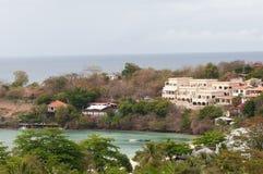 Carenage för familj för fred för karibiska ferie roliga för livsstil för Grenada för hav för bad för värme för sommar för strand  arkivfoto