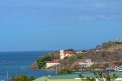 Carenage för familj för fred för karibiska ferie roliga för livsstil för Grenada för hav för bad för värme för sommar för strand  royaltyfri bild