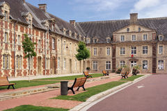 Carentan town hall Stock Images