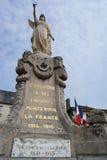 Carentan Wojenny pomnik Obraz Royalty Free