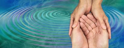 Free Carer`s Loving Kindness Ripple Effect Royalty Free Stock Image - 136370546