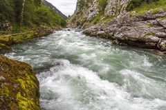 Cares river Royalty Free Stock Photo