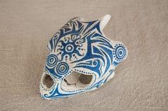 Caretta czaszka opuszczać Obraz Royalty Free