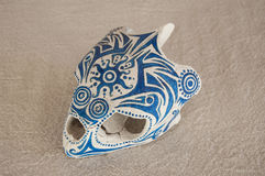 Caretta skull left Royalty Free Stock Image