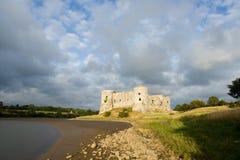 carew城堡 免版税库存图片