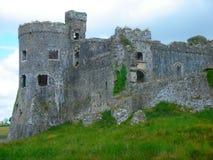 Carew Castle Stock Image