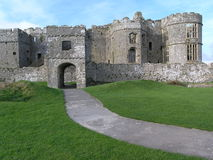 Carew Castle Stock Image