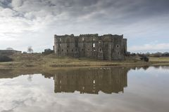 Carew Castle, Pembrokeshire, Wales stock image