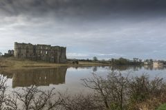Carew Castle, Pembrokeshire, Wales Royalty Free Stock Photo