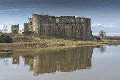 Carew Castle, Pembrokeshire, Wales Royalty Free Stock Photography