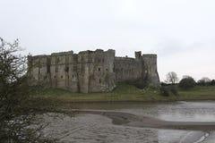 Carew Castle Pembrokeshire South Wales UK Stock Image