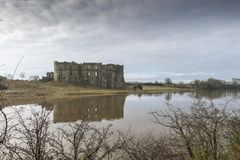 Carew Castle, Pembrokeshire, Wales Royalty Free Stock Images