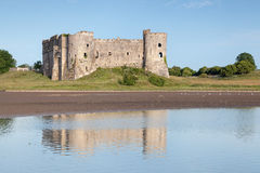 Carew castle, Pembrokeshire, Wales Royalty Free Stock Photos