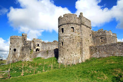 Carew Castle in Pembrokeshire Wales Stock Photos