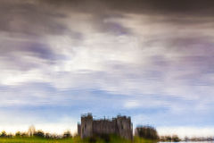 Carew Castle Reflections Royalty Free Stock Photo