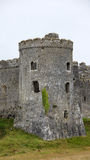 Carew Castle tower Stock Photos