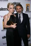 Carey Mulligan, Christoph Waltz Stock Photos