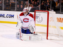 Carey Price makes the save! Royalty Free Stock Images