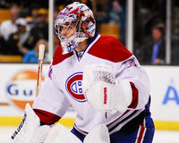 Carey Price Montreal Canadians goal tender. Stock Images