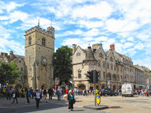 Carfax torn i Oxford Fotografering för Bildbyråer