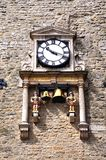 Carfax tower clock, Oxford. Stock Images
