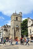 Carfax Tower, Oxford. Royalty Free Stock Images
